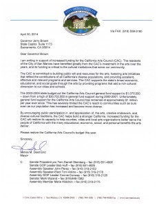 San Marcos_Mayor_Arts_Council_Support_Letter